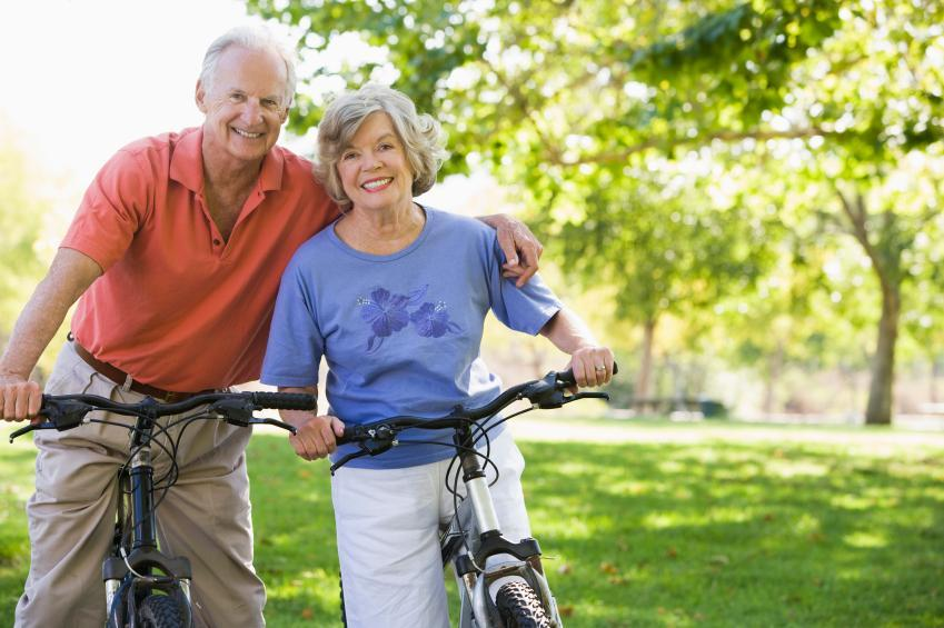 Couple Biking | Dental Crowns Carlton OR