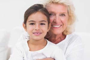 Grandmother and Child | Carlton OR Dentist